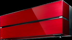 Mitsubishi electric LN Rubiininpunainen